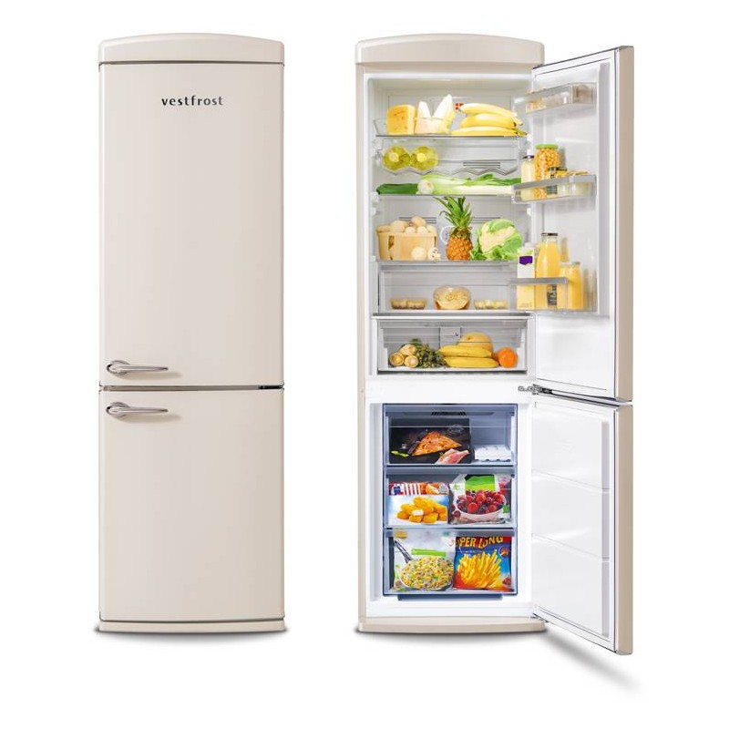 Free-standing Fridge-freezer in beige  VR-FB373-2E0BG